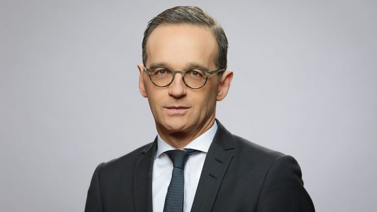 Portrait of German Foreign Minister Heiko Maas